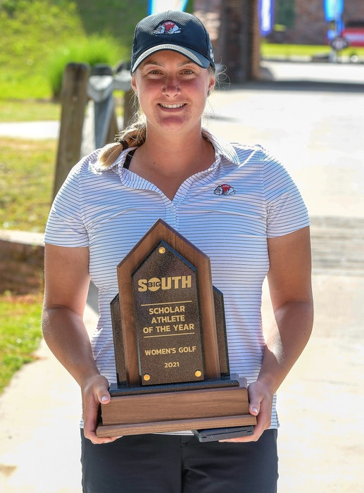Allison Chandler of Chester was named the Big South Conference scholar-athlete of the year for a second consecutive year. - GARDNER-WEBB ATHLETICS