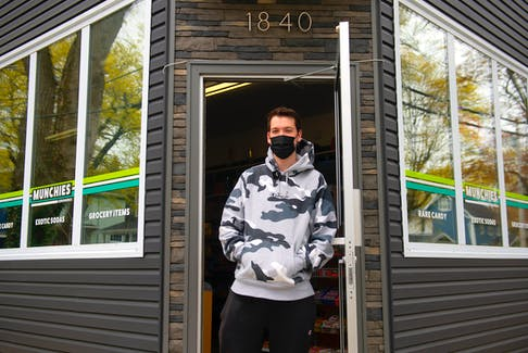 Colin White took over a Kwik-Way convenience store on Vernon St. last year and has converted it into a snack shop called Munchies Convenience.