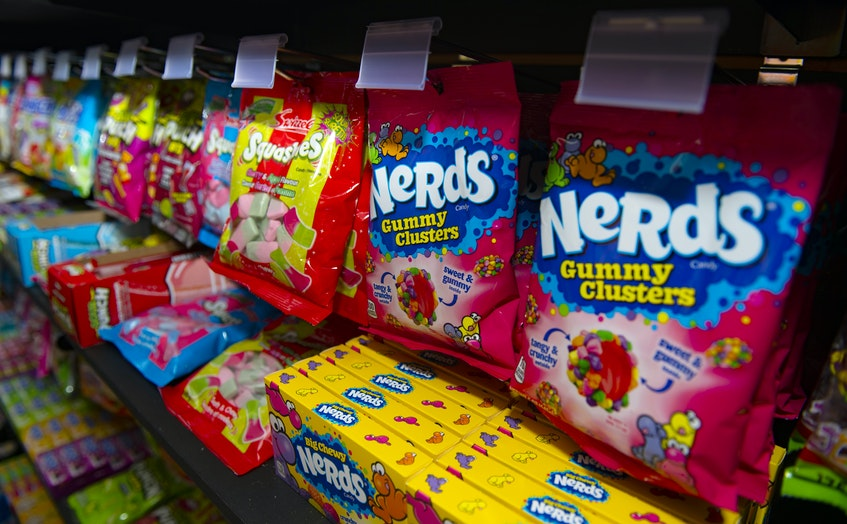Nerds gummy clusters are one of the top sellers at Munchies. Ryan Taplin - The Chronicle Herald - Ryan Taplin