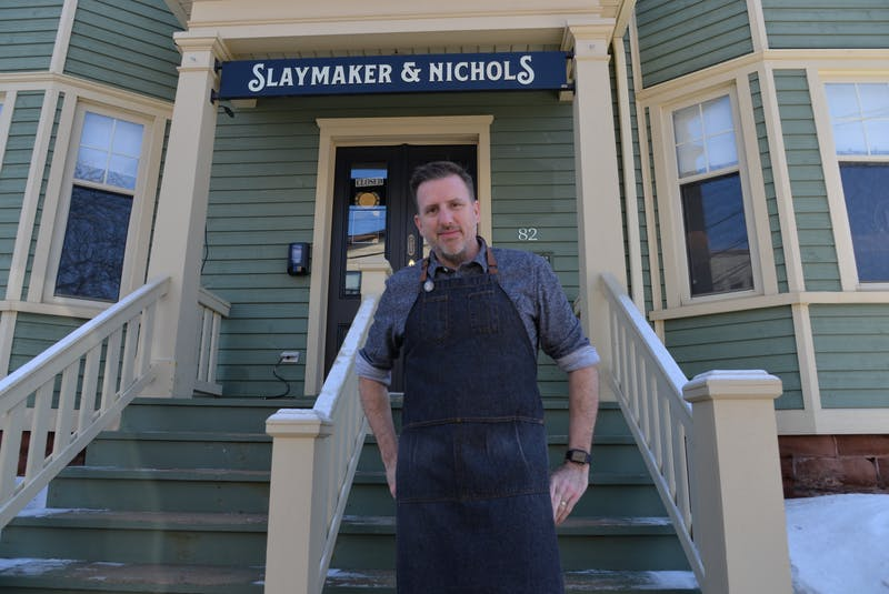 Steve Murphy, co-owner of Slaymaker & Nichols Gastro House in Charlottetown and the seasonal Blue Mussel Cafe in North Rustico, said he's keeping an eye on the COVID-19 outbreak in Nova Scotia and the status of the Atlantic bubble before making a commitment to hire more summer staff.  - TERRENCE MCEACHERN • The Guardian