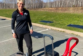 People can join Amber and other Pictou County YMCA fitness instructors as they hold social distanced parking lot fitness classes through this current lockdown.