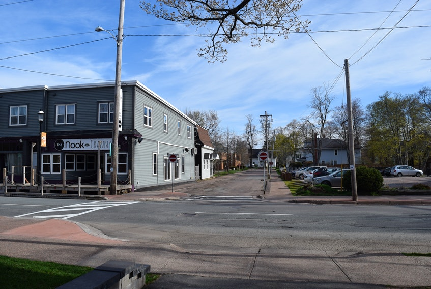 Part of Louise Street will be closed again this year for a patio at The Nook and Cranny restaurant during COVID.