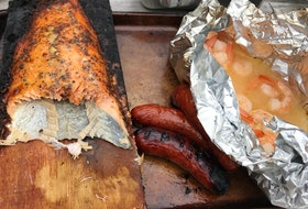 From foil-wrapped shrimp to planked salmon to sausages, there's no limit in what you can cook at the campground.