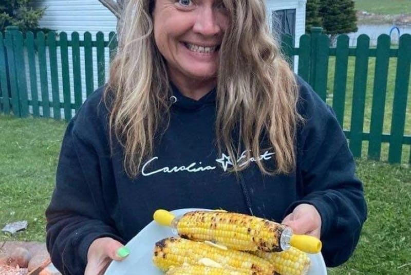 Pam Pardy enjoys roasting corn and sausages on the grill. From peppers to asparagus; onions to sweet potato, everything tastes great when roasted over a fire or grill, she says. - Contributed