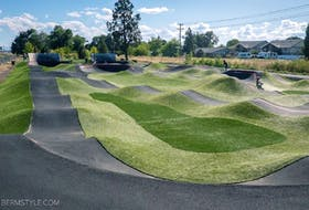 St. John's will soon have a pump track, much like this one in Shubie Park in Dartmouth, N.S. St. John's city council will chip in $60,000, while Canary Cycles will contribute $100,000 and the Avalon Mountain Bike Association will fundraise for the remainder of the cost of the track, which will be located on The Boulevard by Quidi Vidi Lake.