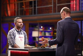 Chef Michael Bonacini offers up his judgement on Andrew Al-Khouri's gourmet cabbage rolls on the penultimate episode of MasterChef Canada: Back to Win.