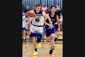 Horton High School basketball player Kaj MacVicar has committed to playing for Acadia University in the neighbouring Town of Wolfville next season.
