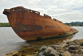 Gary Mitchell sent this photo of the whaling ship the SS Charcot in Conception Harbour, N.L. 
