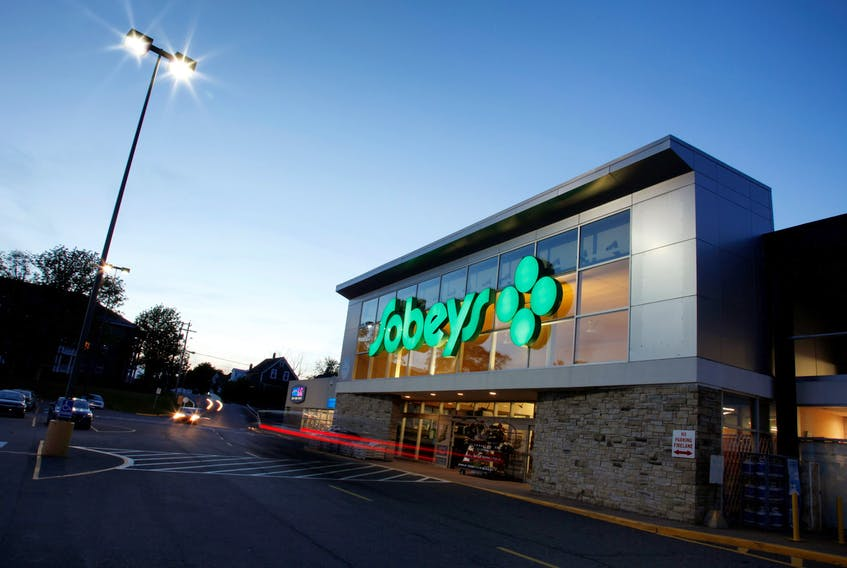 The Sobeys at Aberdeen Mall in New Glasgow is a Crombie REIT property.