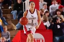 Whitney Ffrench, who hails from New Minas, played four seasons (2003-07) with St. Joseph's University in Philadelphia. - St. Joseph's Athletics