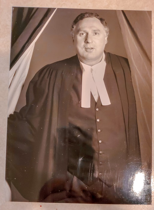 Sanford Cohen, seen here in 1995, was a Crown prosecutor for the B.C. provincial court. CONTRIBUTED