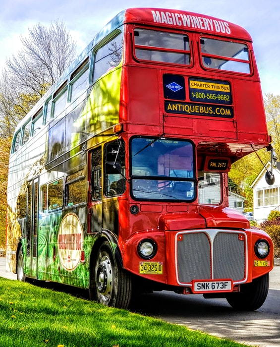 The Magic Winery Bus Ltd. plans to bring the traditional British double-decker back this year in addition to the Tidal Bay Express. - Contributed