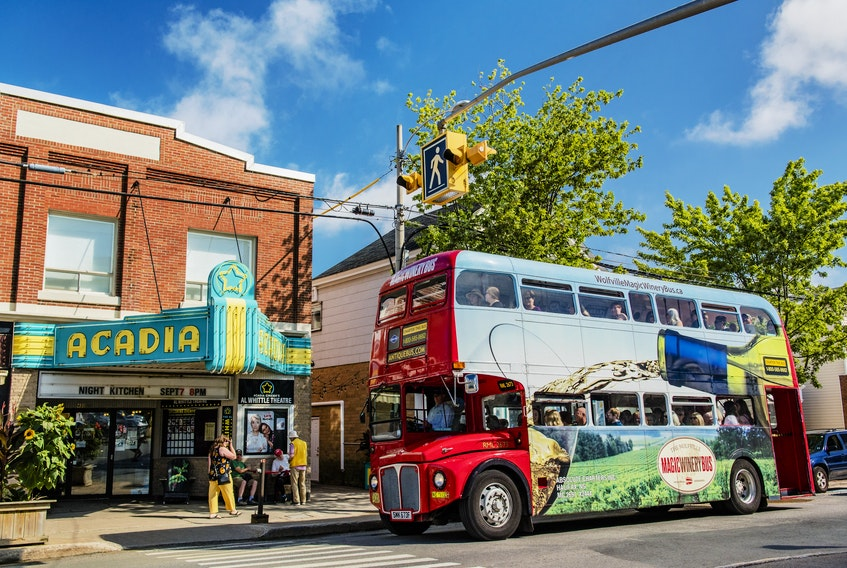 The Magic Winery Bus Ltd. plans to bring the traditional British double-decker back this year in addition to the Tidal Bay Express. CONTRIBUTED