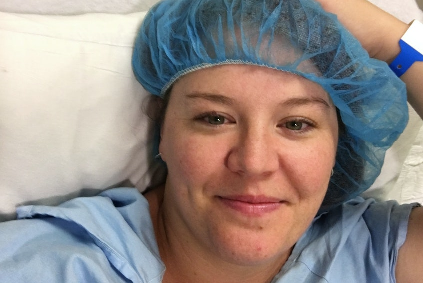 Krista Montelpare, of Glace Bay, N.S., has undergone many fertility treatments, including injections to increase egg production followed by an egg retrieval procedure.