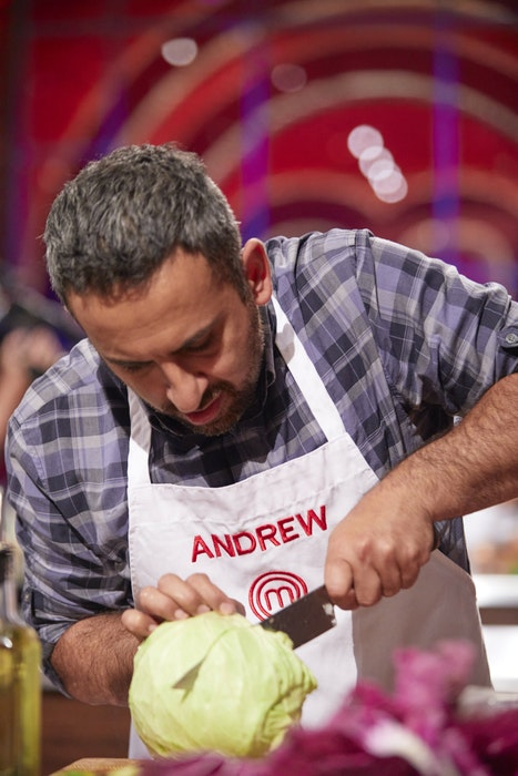 Halifax chef Andrew Al-Khouri puts his culinary skill to the test on the humble cabbage on the latest episode of MasterChef Canada: Back to Win. - CTV/Bell Media