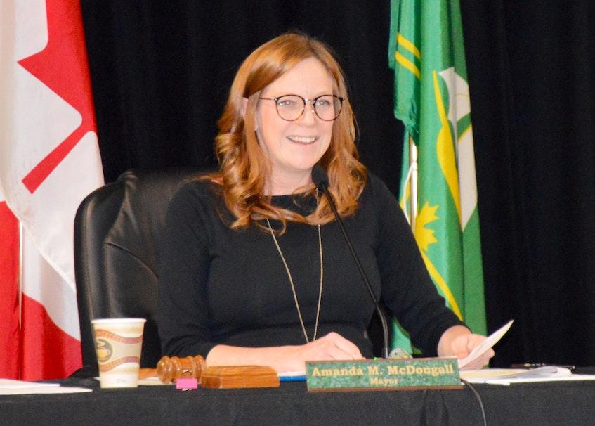 """The restrictions do say to treat your community like a municipality."" — CBRM Mayor Amanda McDougall. FILE"