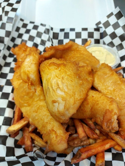 One of the customer favourites at Nana's Gluten Free Take-out in Mount Uniacke is their light and crispy fish and chips. - Contributed