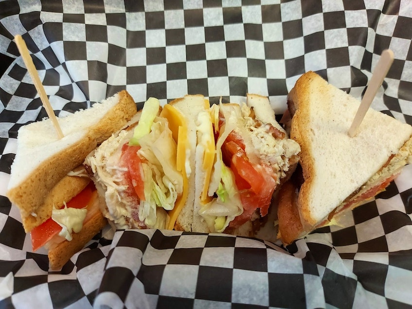 For people with celiac disease, a clubhouse sandwich is usually a big no-no. That's not the case for those who visit Nana's Gluten Free Take-out. Everything on the food truck's menu is safe to eat for those with issues processing gluten. - Contributed