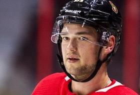 Ottawa Senators forward Logan Brown.