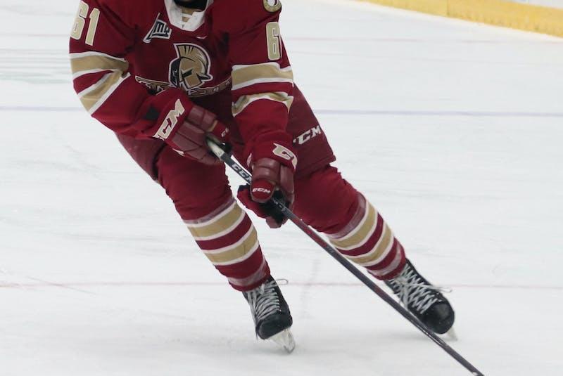 Acadie-Bathurst Titan left-winger Bennett MacArthur scored 28 goals in 33 Quebec Major Junior Hockey League games this season. - Acadie-Bathurst Titan • Special to the Guardian Tyson Gray