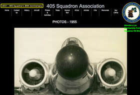 The website of 405 Squadron in Greenwood, N.S. —