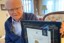 Lawyer Clifford Hood, with Hood Fraser d'Entremont law firm in Yarmouth, has been practicing law for 50 years.