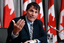 Intergovernmental Affairs Minister Dominic LeBlanc.