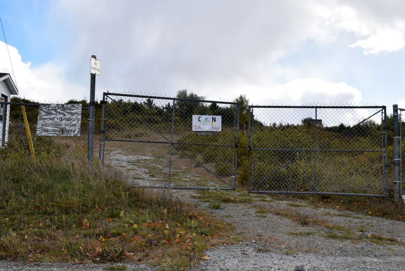 The gates are locked and for the most part, the former Shelburne dumpsite located in a residential neighbourhood in the south end of town, looks abandoned in this 2018 file photo. - Kathy Johnson