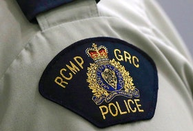 RCMP say a storage building located on Pond Street was spray-painted.
