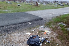 Another incident of Illegal dumping displayed at a cemetary in Glace Bay. Illegal dumping remains an ongoing problem in the Cape Breton Regional Municipality. CONTRIBUTED/PATRICIA MACLEAN
