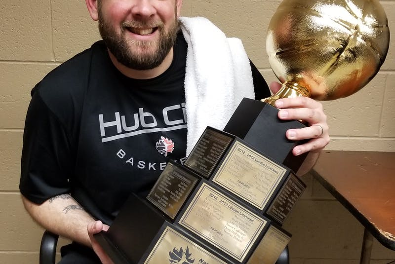 Head coach Joe Salerno and his Moncton Magic won the 2019 National Basketball League of Canada championship. - Contributed