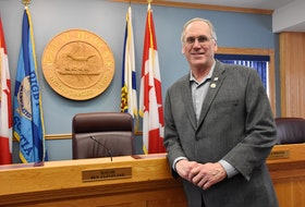 Digby Mayor Ben Cleveland. TINA COMEAU • TRICOUNTY VANGUARD