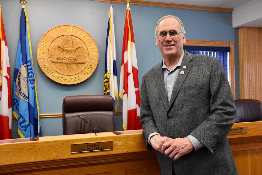 Digby Mayor Ben Cleveland. TINA COMEAU • TRICOUNTY VANGUARD