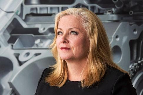 Linamar CEO Linda Hasenfratz.
