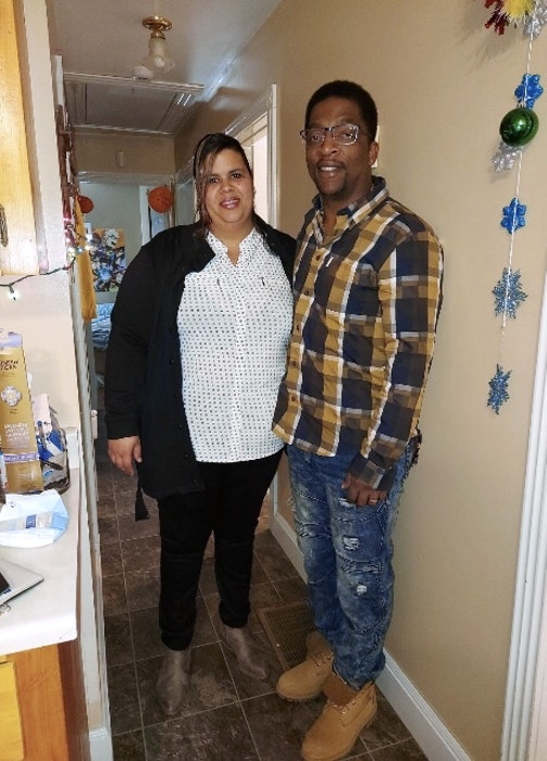 Trishalena and Nayo Boddie are forever thankful for the support of the West Hants Caremongers after losing everything they owned in a house fire in 2020. - Contributed