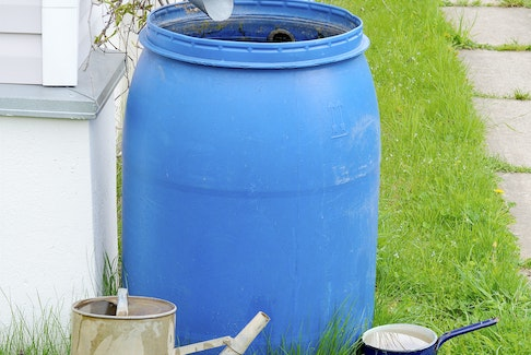 An example of a type of rain barrel that ACAP Cape Breton will be distributing throughout the community after its graphic design contest is completed. Theirs will include spouts and the winning affixed decal. STOCK IMAGE