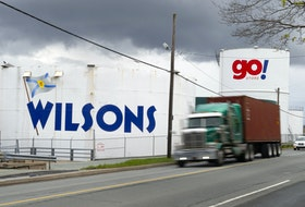 Vehicles pass by Wilson Fuel storage tanks on Barrington Street in Halifax on Wednesday, A fuel pipeline shutdown in the U.S. has local drivers nervous about the possibility of gasoline shortages. Ryan Taplin - The Chronicle Herald