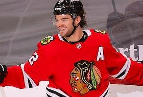 Alex DeBrincat of the Chicago Blackhawks.