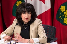 Ontario Auditor General Bonnie Lysyk speaks during a press conference at Queen's Park after the release of her 2019 annual report in Toronto on Dec. 4, 2019.