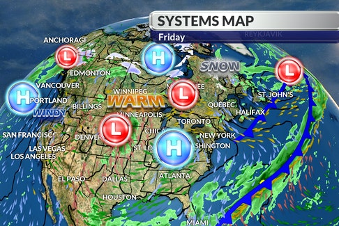 Cindy Day's systems map for May 14. WSI