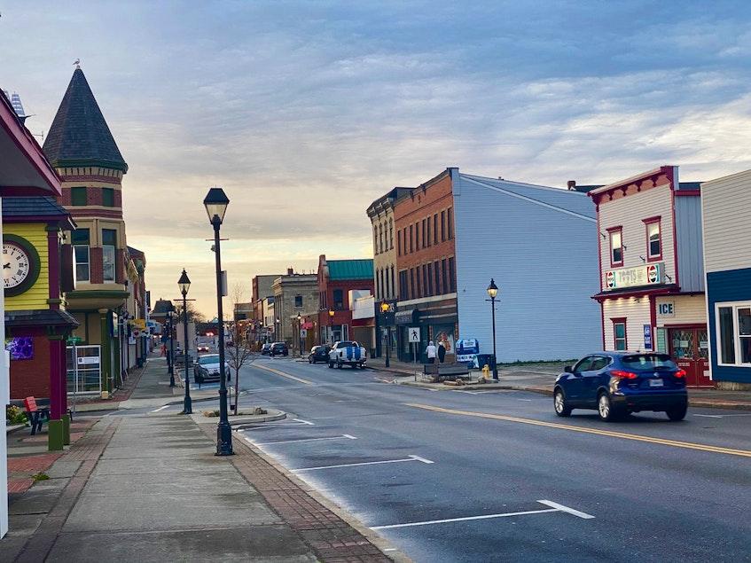 A portion of Yarmouth's Main Street. TINA COMEAU PHOTO - Tina Comeau