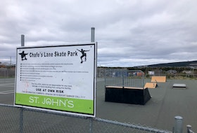 The City of St. John's is considering relocating the equipment at this skate park in Kilbride and repurposing the space.