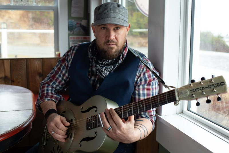 """Singer/songwriter Jesse Cox has just released his first album, """"Whipping Post featuring Shaun Verreault (Wide Mouth Mason)."""" Contributed - Contributed"""