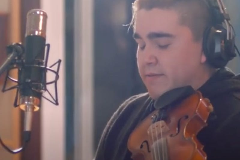 """Singer/songwriter and fiddler Morgan Toney has just released his first album, """"Msit No'kmaq featuring Ashley MacIsaac."""" CAPE BRETON POST  - Contributed"""