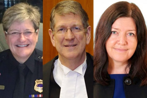 Former Fredericton police chief Leanne Fitch, Michael MacDonald, former chief justice of Nova Scotia, and lawyer Kim Stanton, who practises Aboriginal and constitutional law at Goldblatt Partners LLP in Toronto, are the three Mass Casualty commissioners leading the inquiry into issues surrounding the April 2020 mass shooting in Nova Scotia.