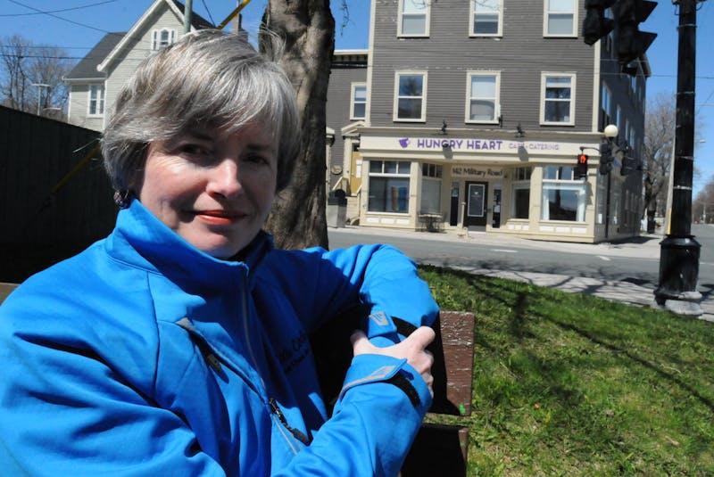 Stella's Circle CEO Lisa Browne at Rawlin's Cross in St. John's. - Joe Gibbons/The Telegram