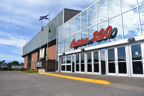 Centre 200 in Sydney, where people lined up for COVID testing Wednesday afternoon and were accousted by a man who allegedly yelled, threw things and waved a knife. CAPE BRETON POST