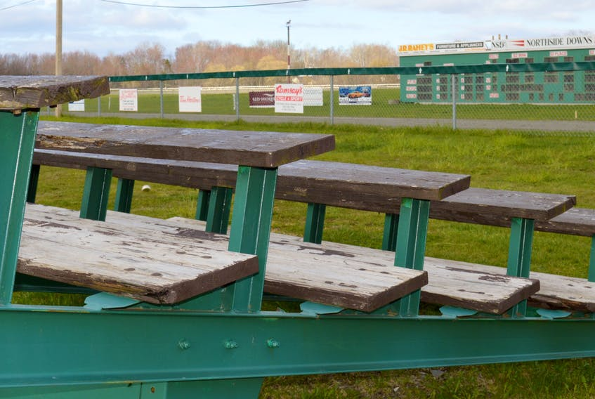 Northside Downs anticipated local harness racing fans to be in the stands this weekend for the start of the 2021 season, however, the season opener has been delayed due to the provincial COVID-19 lockdown. JEREMY FRASER • CAPE BRETON POST