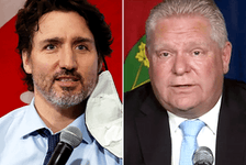 Prime Minister Justin Trudeau and Ontario Premier Doug Ford have been publicly disagreeing over COVID border measures for months.