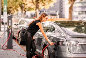 While studies show women represent the majority of new car buyers, a great percentage of men seem to be buying electric vehicles. 123rf stock photo